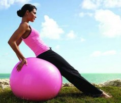 Резиновый шарик для гимнастики - Фитбол