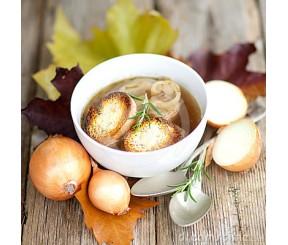 Диетический луковый суп расщепляет жиры