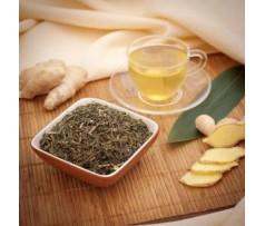 Натуральная польза зеленого чая с имбирем