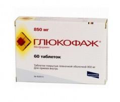 Уровень холестерина снижаем Глюкофажем 850