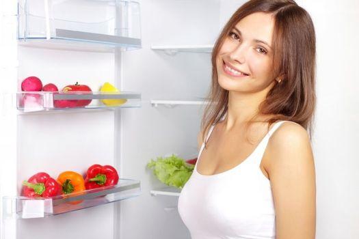 на диете с овощами