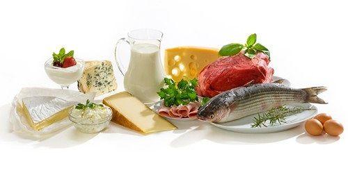 рыба и молочная продукция