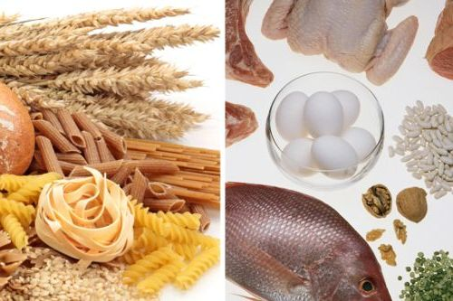 продукты с содержанием белка