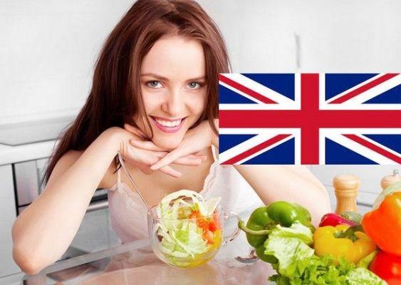 с порцией английской диеты