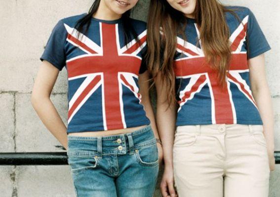 стройные англичанки