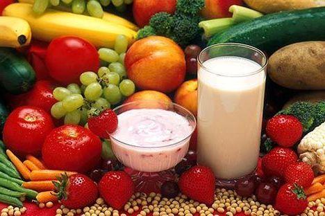 фрукты с овощами