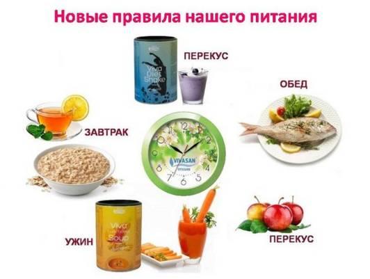новые правила питания