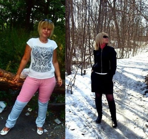 до и после гречки с кефиром