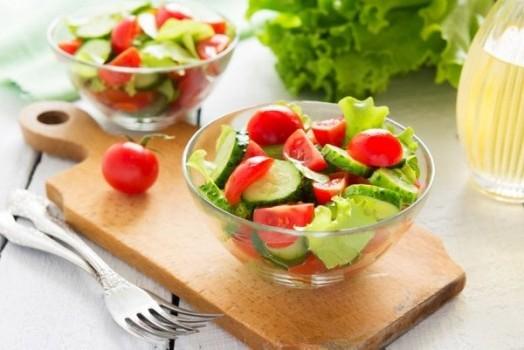 легкий ужин из овощей
