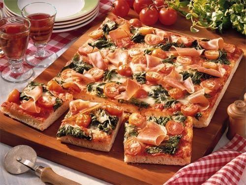 пицца малокалорийная