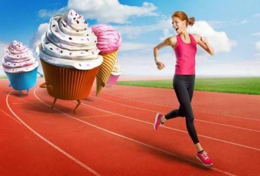 убегать от пироженого