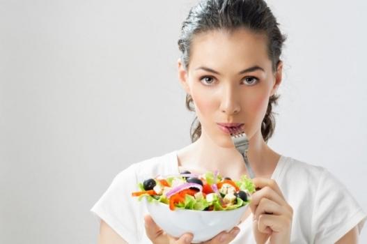кушать не жирную пищу