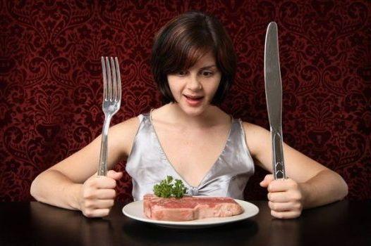 нет чувству голода