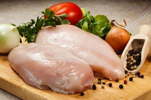 мясо курицы с овощами