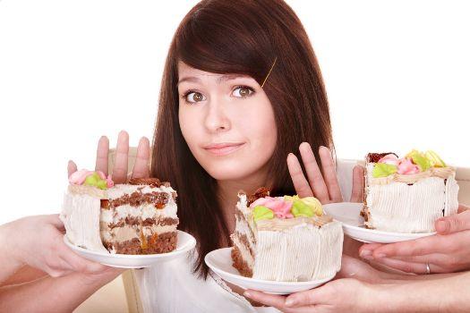 никаких жирных сладостей для похудения