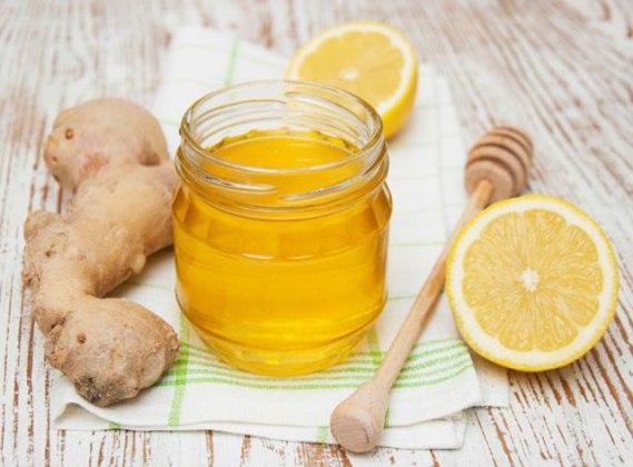 имбирь мед лимон