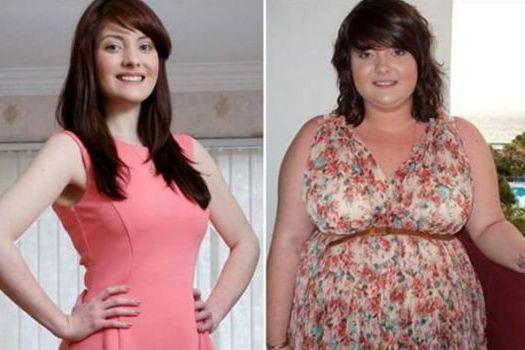 до и после похудения с мангустином