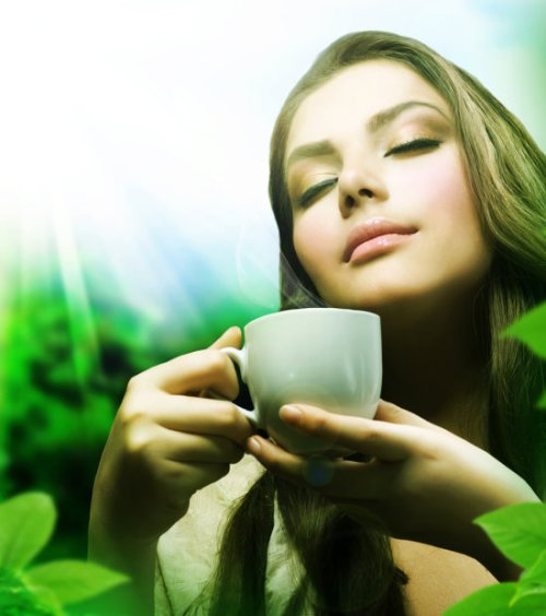 аромат чая