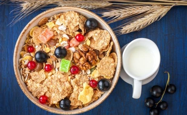 на завтрак
