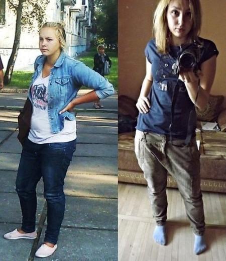 до и после приема